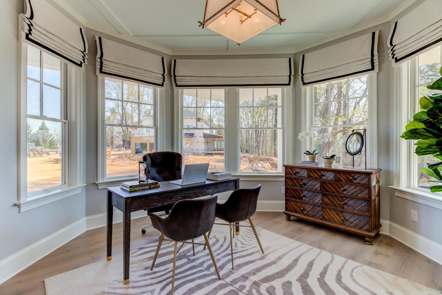Office sunroom in the Chandler from Bentley Homes.