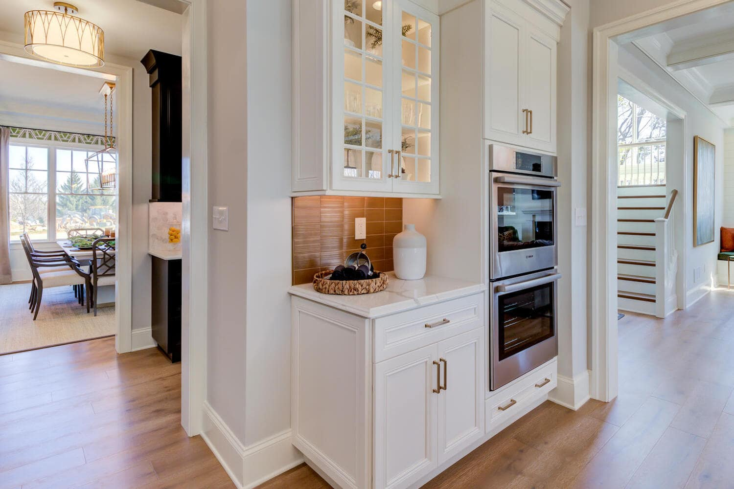 Interior of a new home from Bentley Homes.