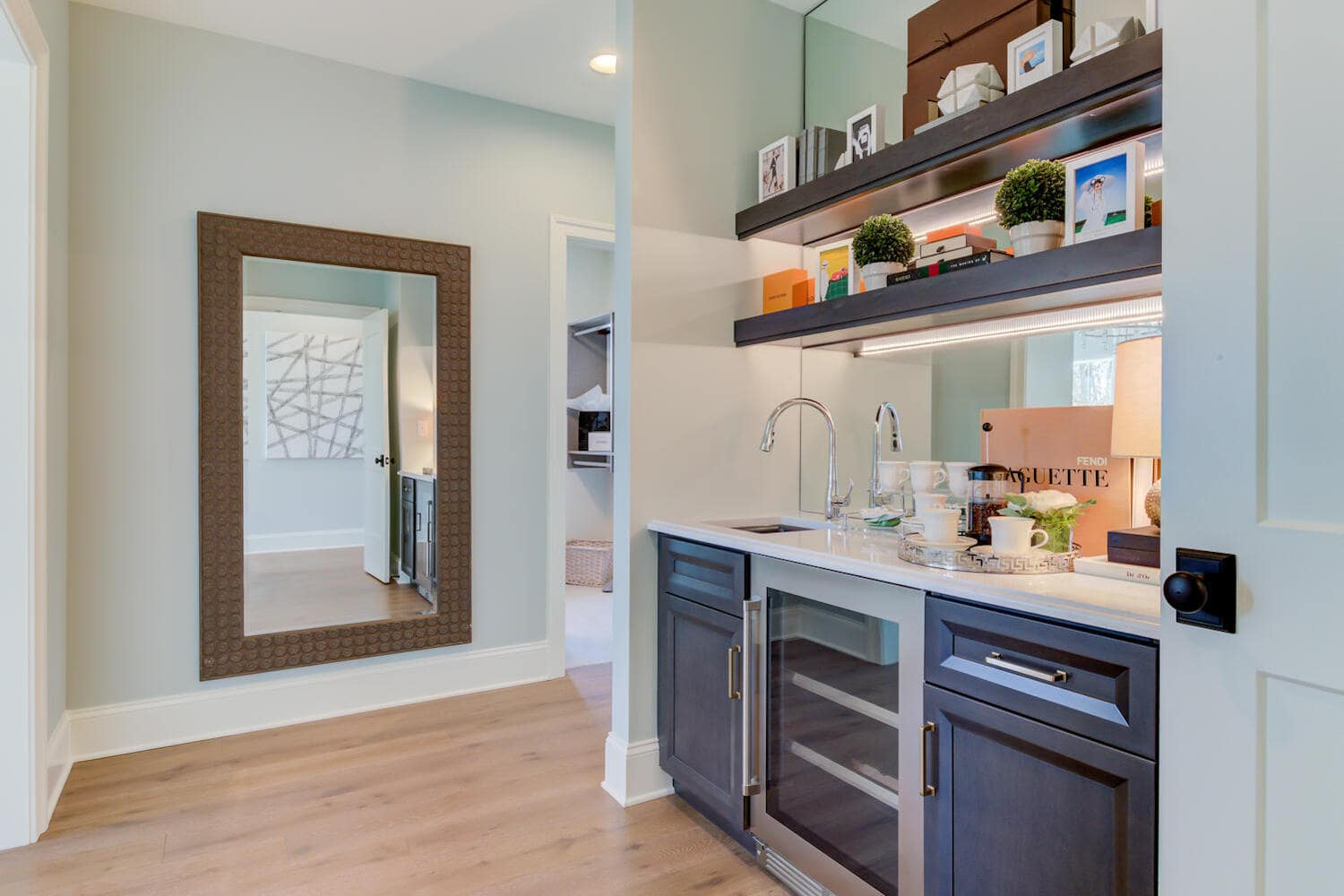 Interior image of a new home from Bentley Homes.