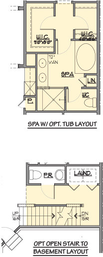 Annapolis End-Options Floor Plan