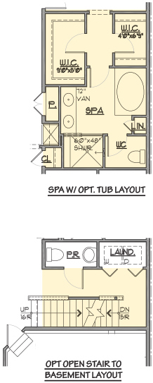 Brandywine Options Floor Plan