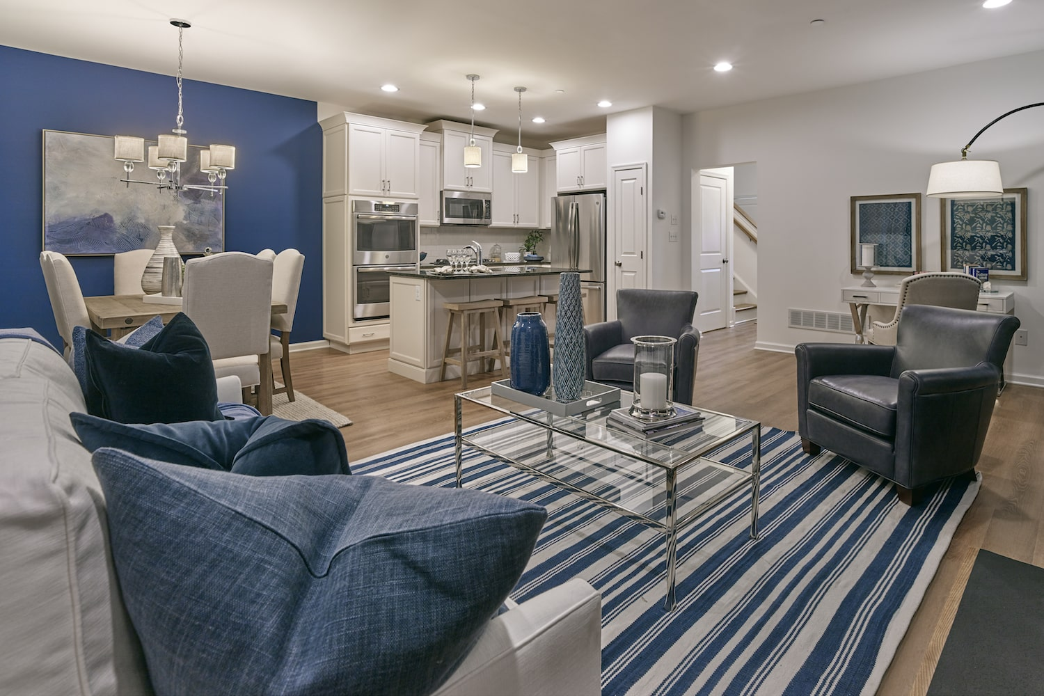 Image of the interior of a townhome at Pemberton