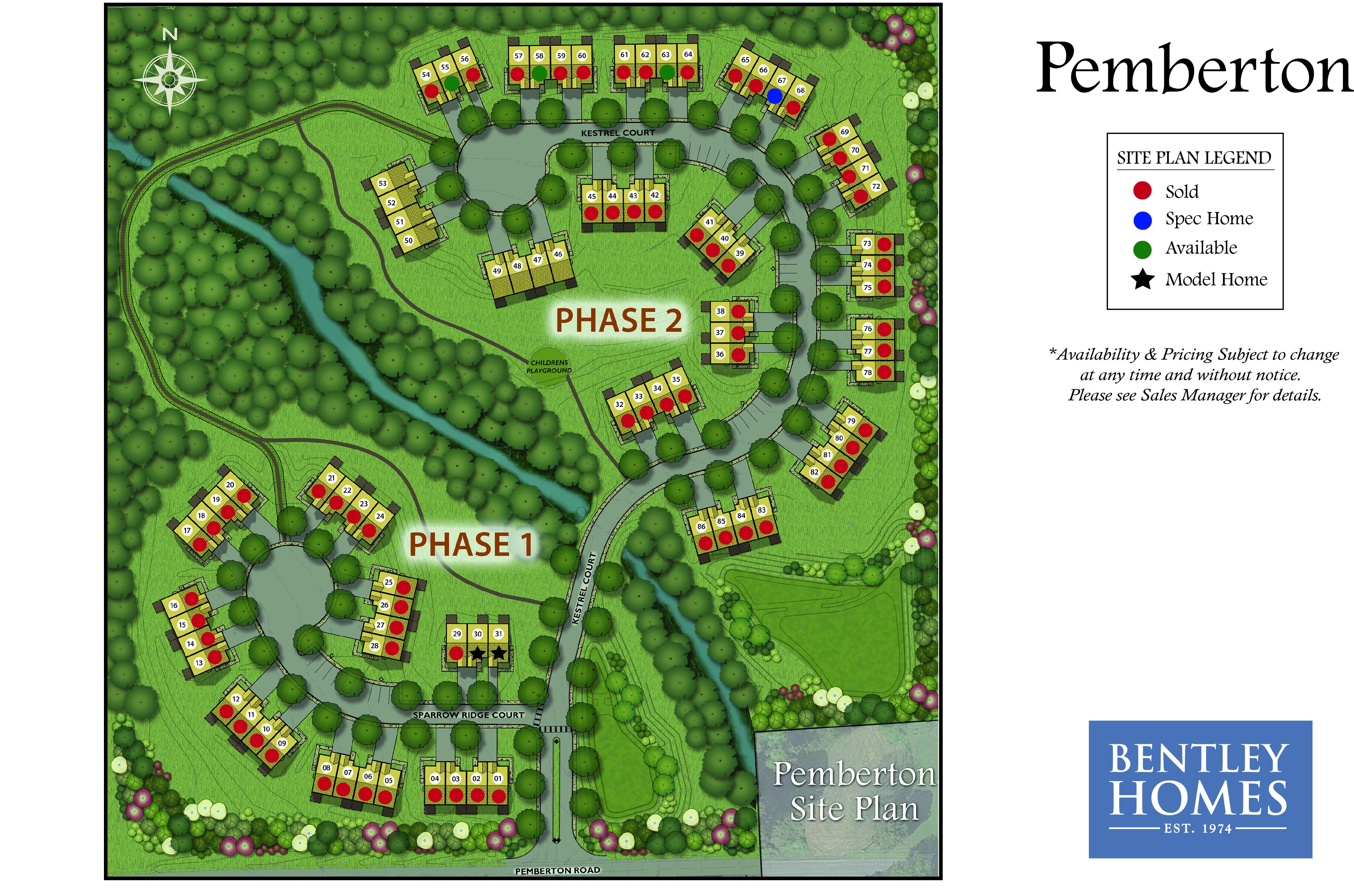 Pemberton Site Plan