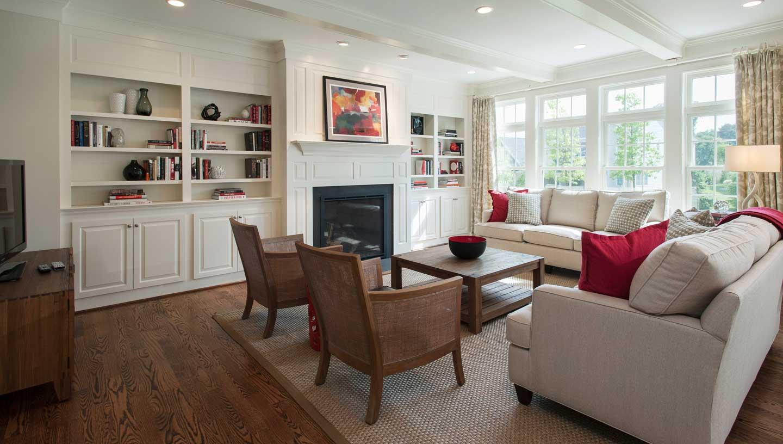 Marlboro Springs Living Room