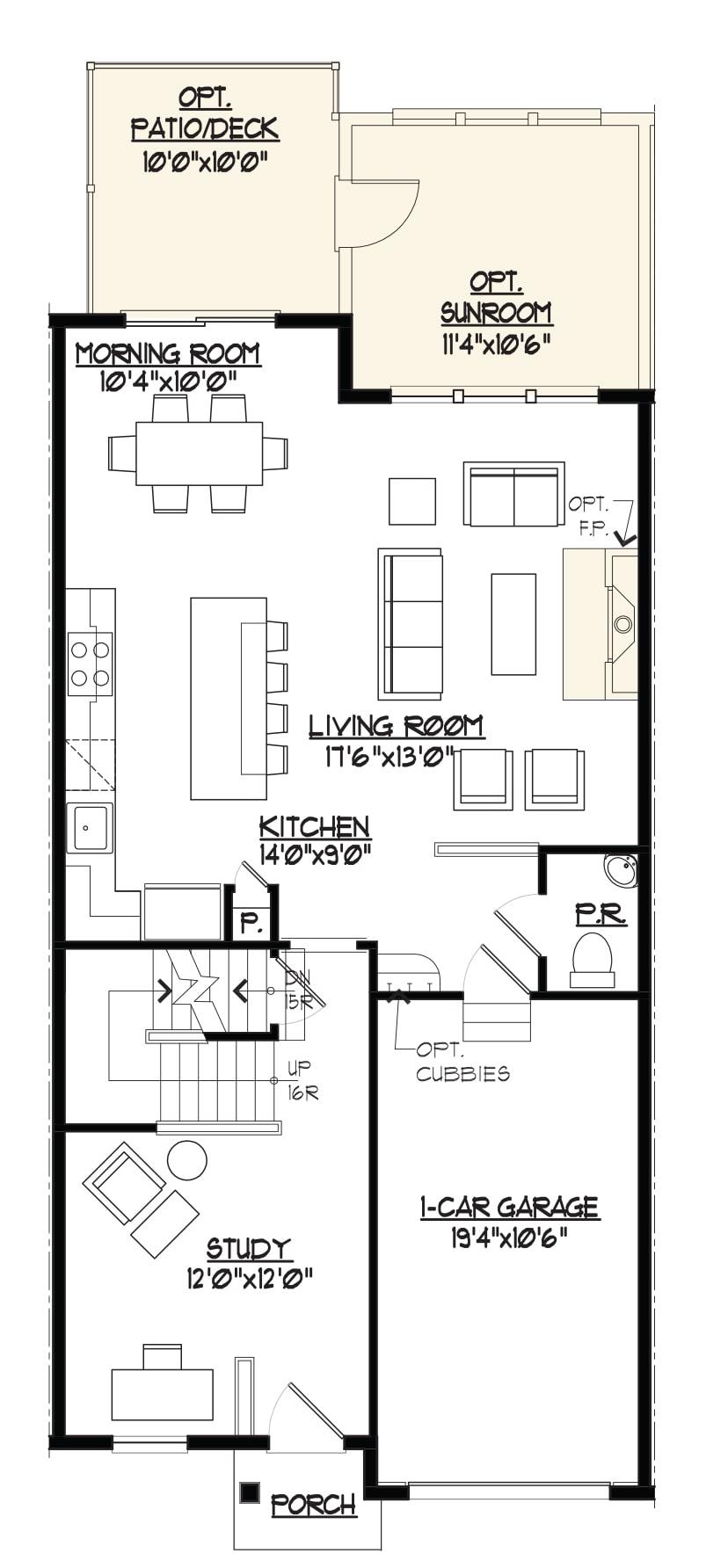 Jamestown Model Main Level