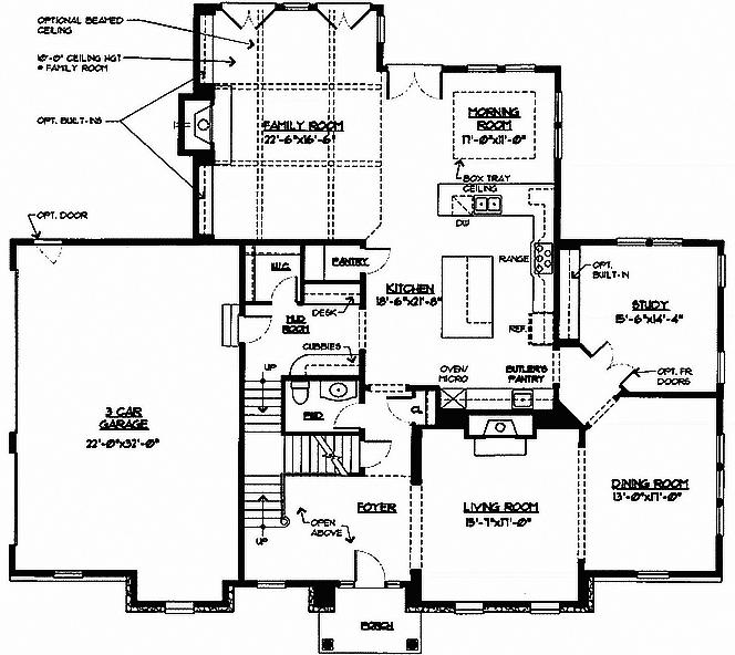 Laurel Floor Plan 1st Floor