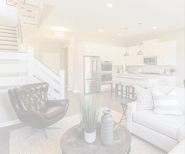 Shaded image of a home interior from our Pemberton community in Kennett Square, PA