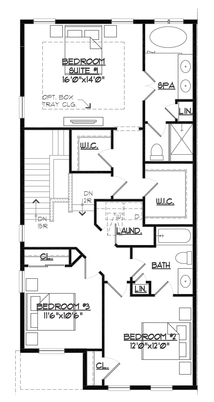Somerset Bedrooms Plan