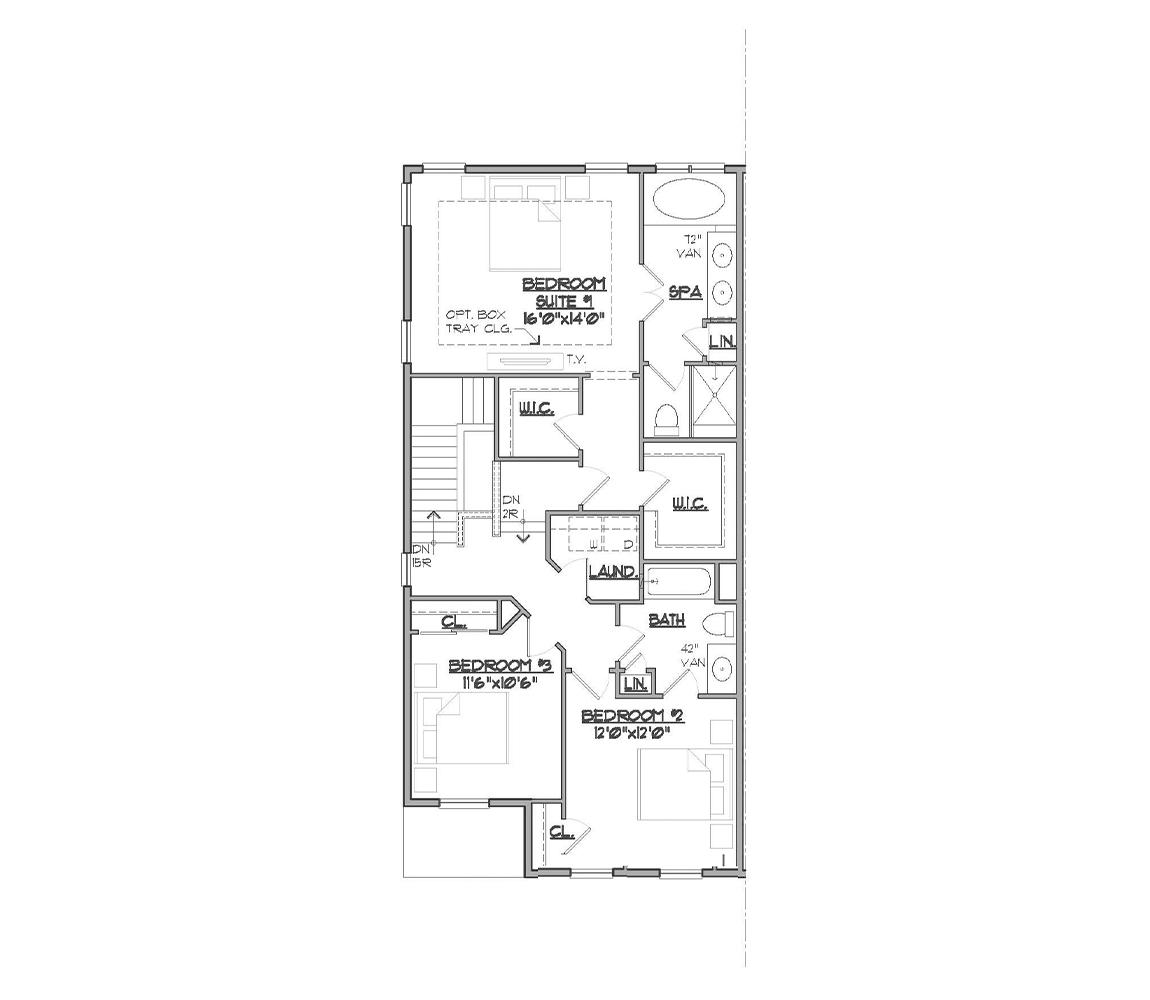 Somerset bedroom floor plan.