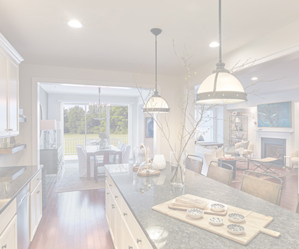 Shaded interior of a home in our Stonehouse community in Kennett Square, PA