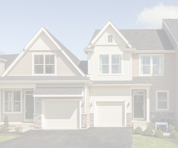 Shaded image of townhomes from our Quick Delivery homes