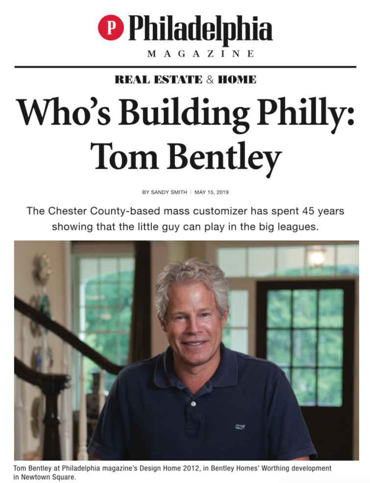 Tom Bentley Philadelphia Magazine Profile