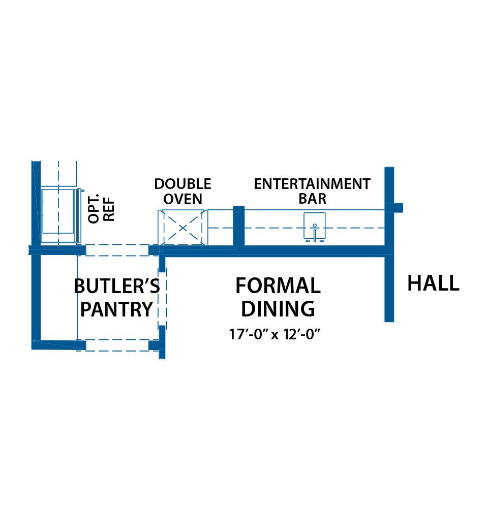wetBar floor plan