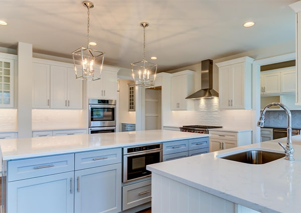 New Tiburon kitchen from Bentley Homes.