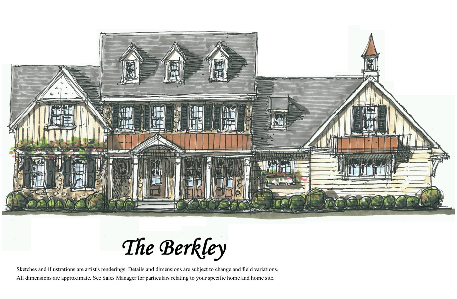 Artist rendering of The Berkley home.
