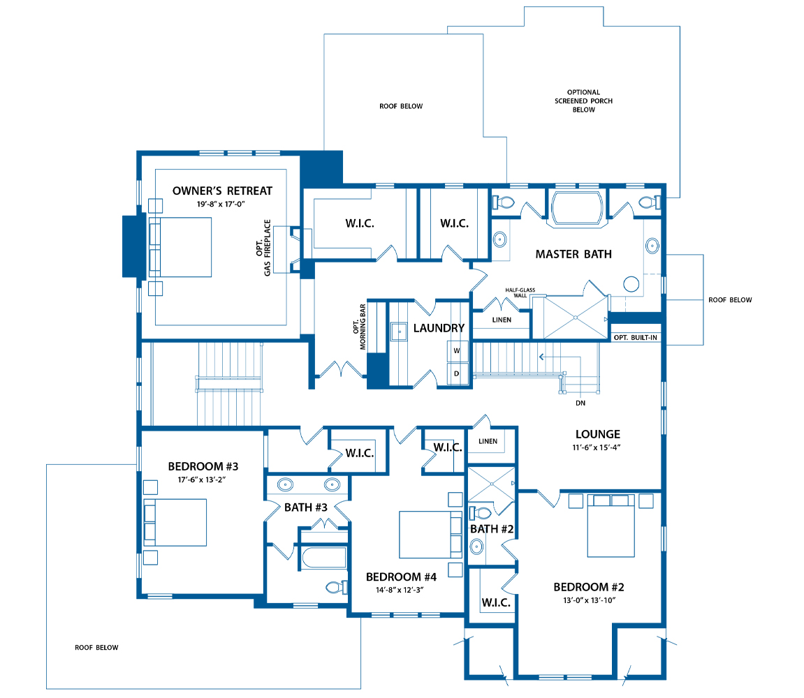 Chandler bedroom floor plans.