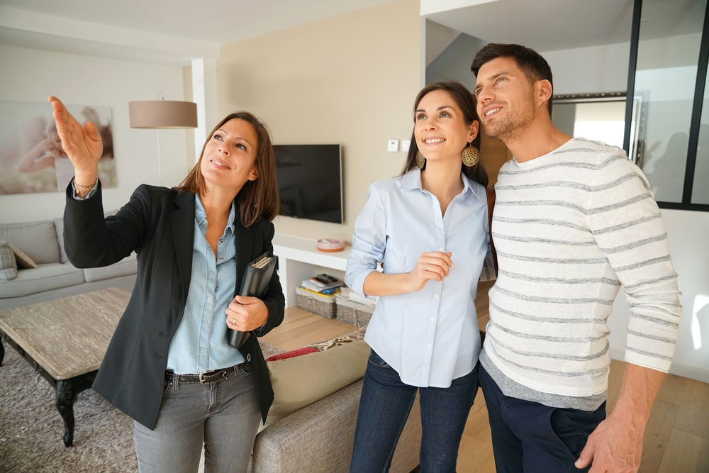 A Couple Taking A Tour of A Model Home On the Main Line PA